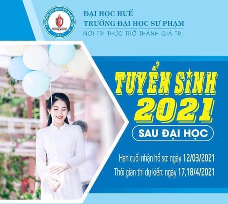 Tuyển sinh đào tạo trình độ thạc sĩ lần 1 năm 2021
